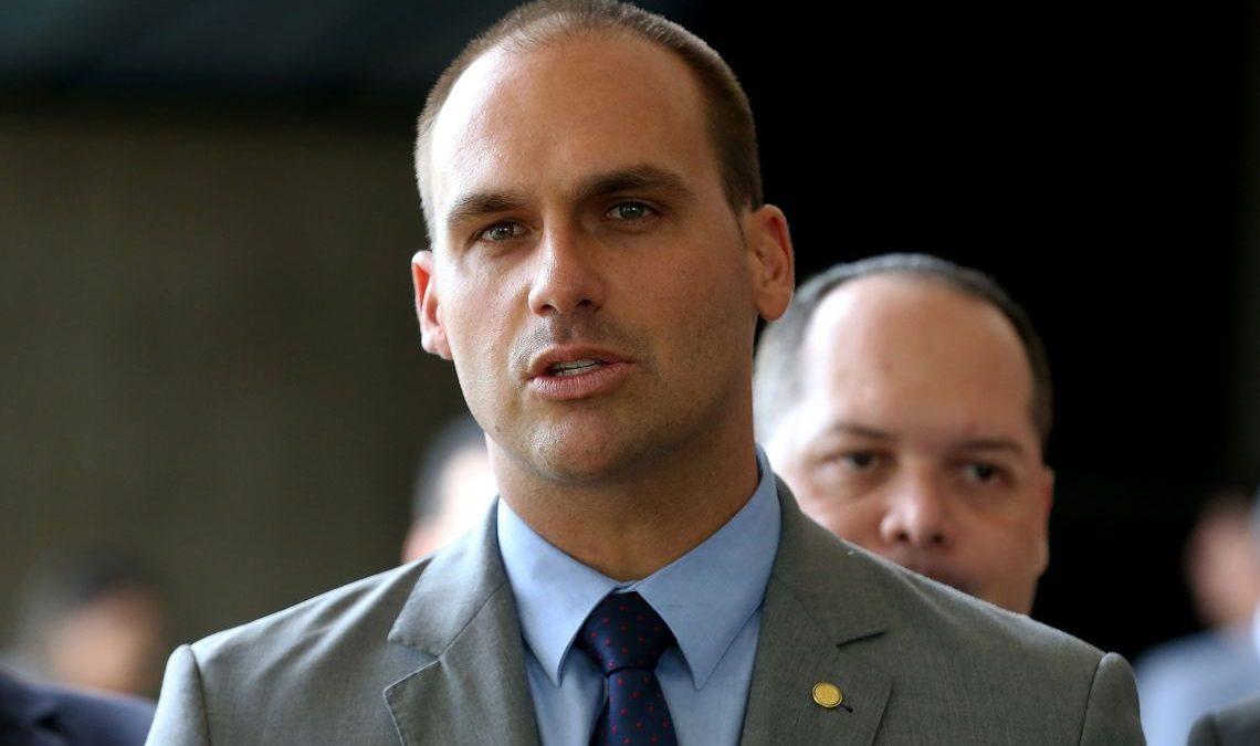 Lewandowski rejeita pedido para suspender indicação de Eduardo Bolsonaro para embaixada