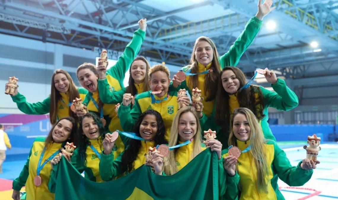 Pan: Brasil conquista bronze no pólo aquático feminino
