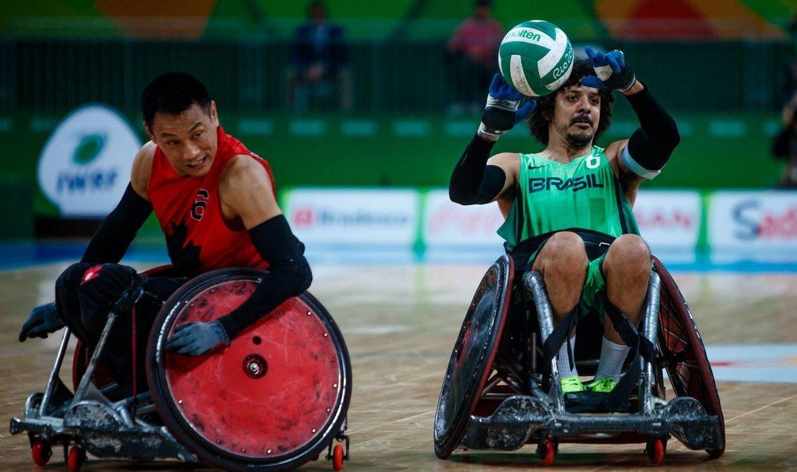 Seleção de rugby em cadeira de rodas busca medalha inédita no Parapan