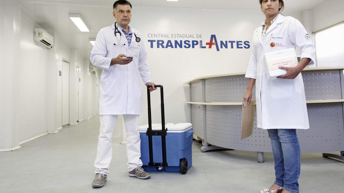 Programa Estadual de Transplantes bate recorde de transplantes em julho