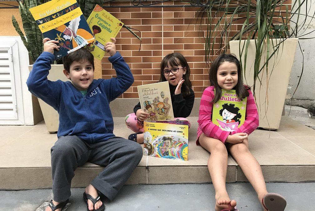 No clima da Bienal do Rio: 9 atividades para estimular o hábito da leitura nas crianças