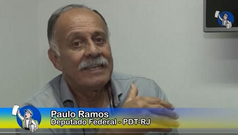 """Paulo Ramos: """"A política adotada por Guedes é a de privilegiar o capital estrangeiro"""", em entrevista ao Tribuna na TV"""