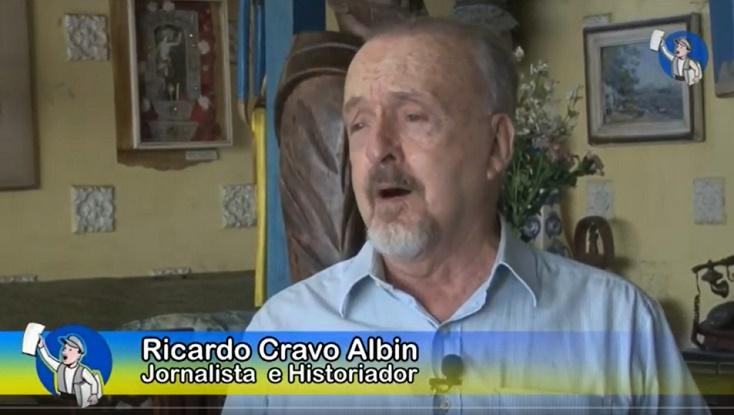 """Ricardo Cravo Albin: """"nossa Música é nosso maior orgulho!"""", em entrevista ao Tribuna na TV"""