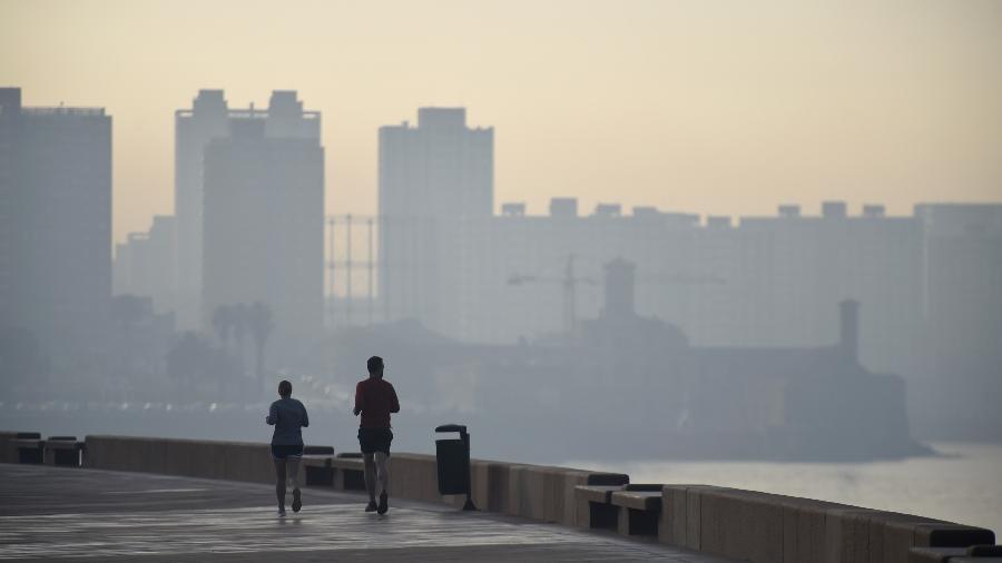 Fumaças de incêndios na Amazônia chegam ao Uruguai