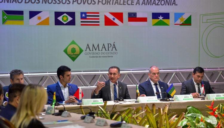 Governadores da Amazônia se reúnem com Bolsonaro na terça