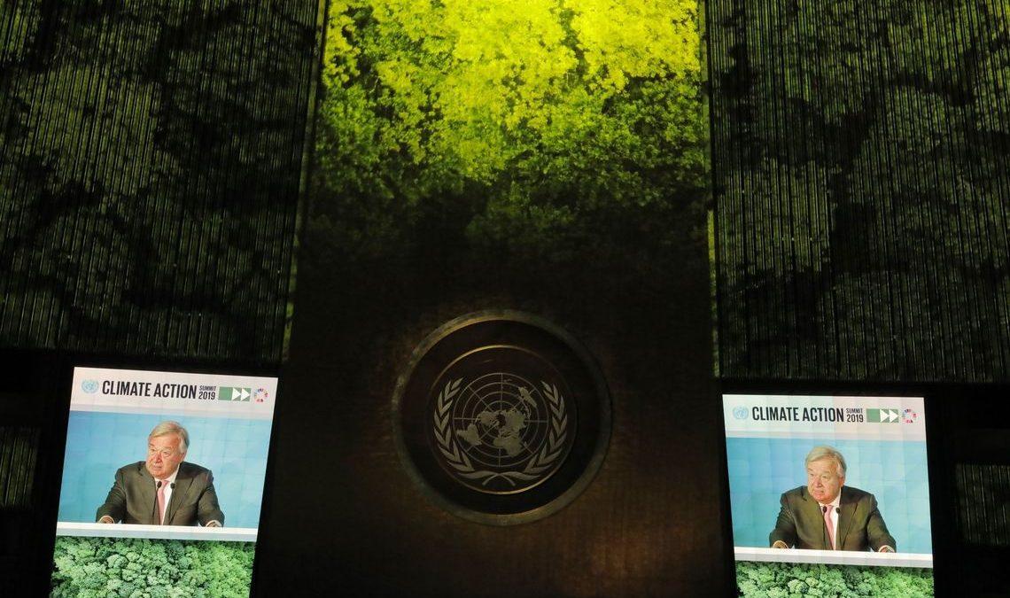 Chefe da ONU diz que se recusa a ser cúmplice de destruição da Terra