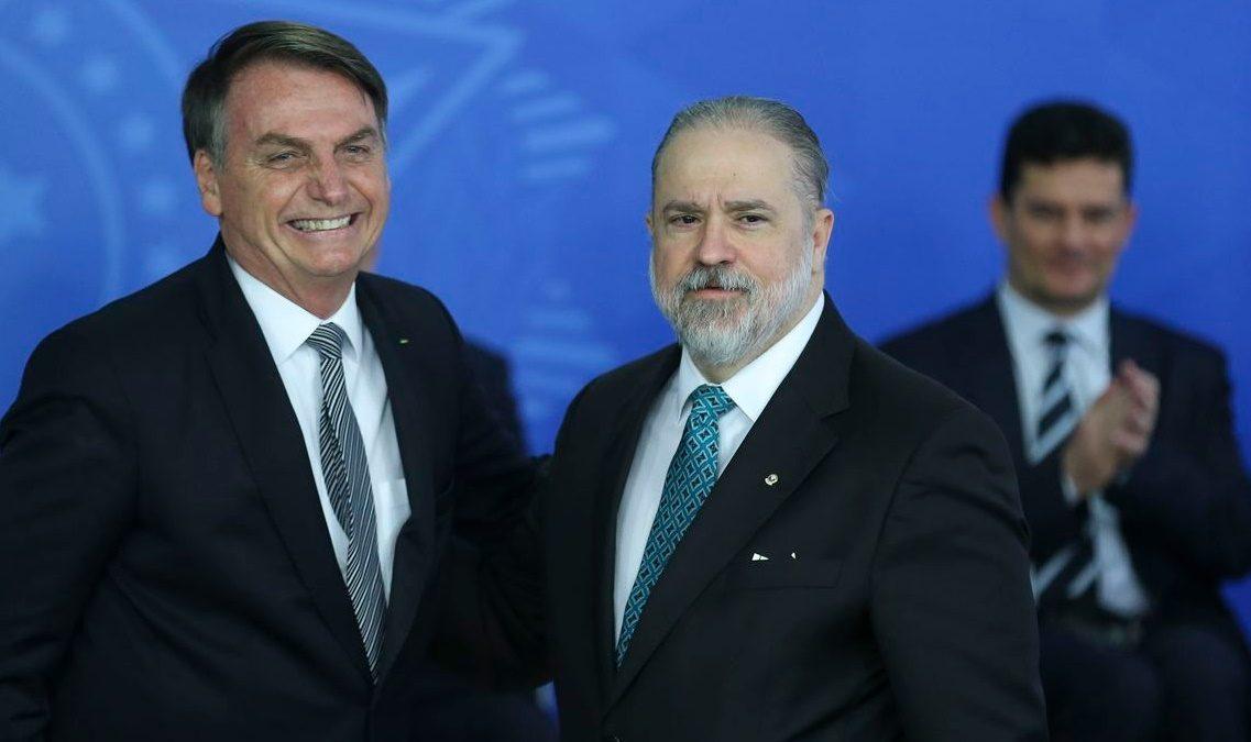 Augusto Aras toma posse na Procuradoria-Geral da República
