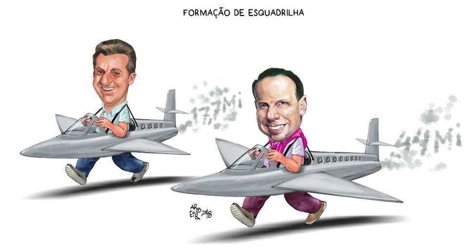 Bolsonaro atira em Doria e Huck, para ser o representante único da direita