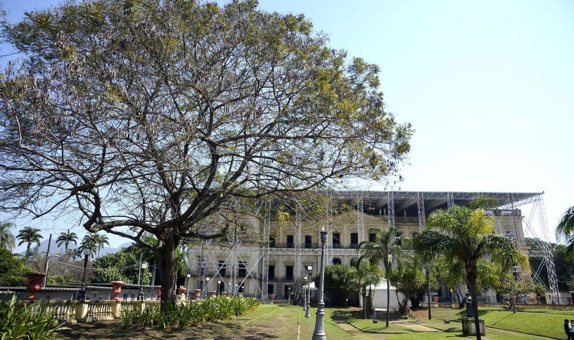 Reconstrução do Museu Nacional entra em nova fase