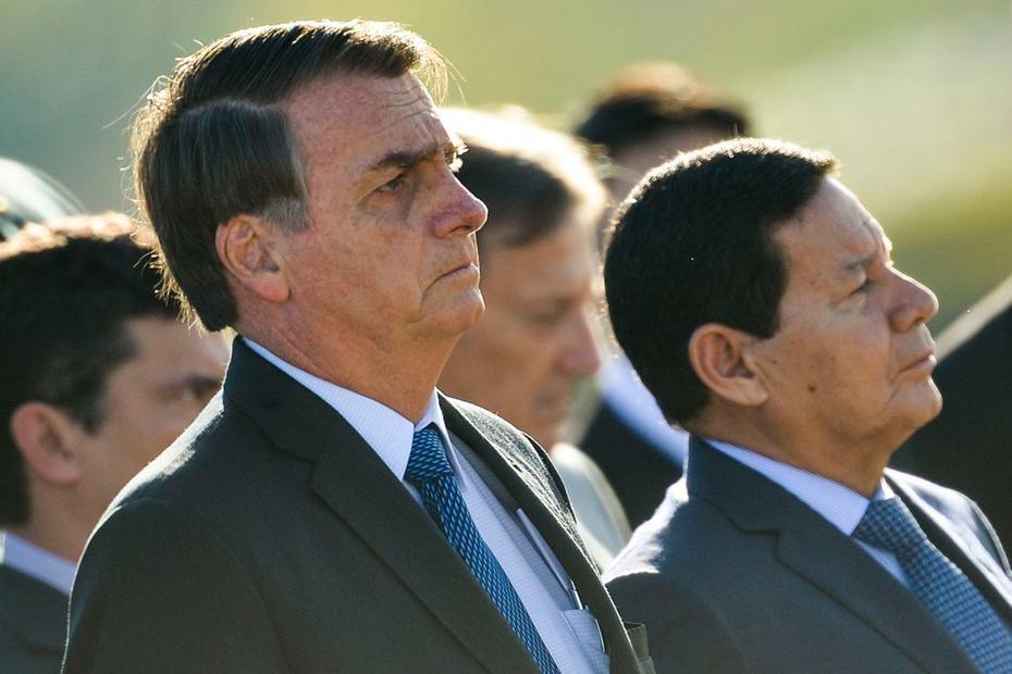 Aliados de Bolsonaro veem Mourão em nova fase, mas mantêm vigilância sobre ele