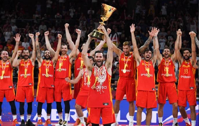 Espanha ganha campeonato mundial de basquete