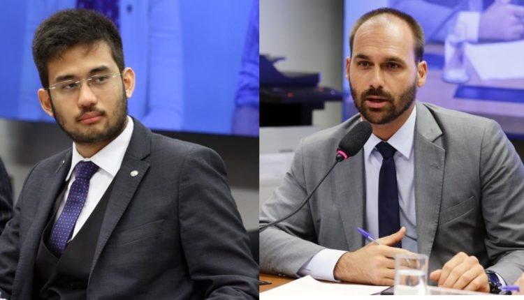 Embate entre Kim e Eduardo revela desgaste entre MBL e PSL