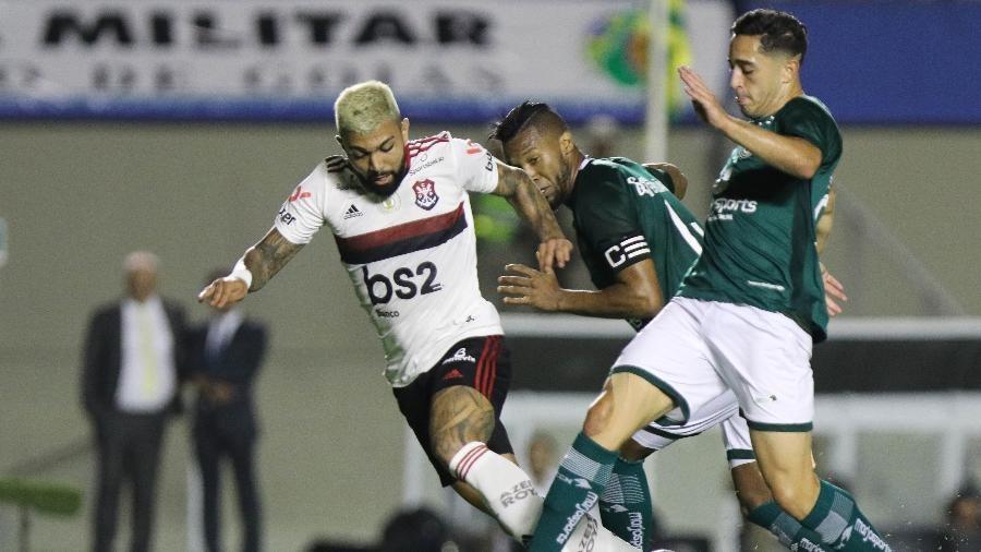 Flamengo empata com Goiás e vê vantagem diminuir no Brasileiro