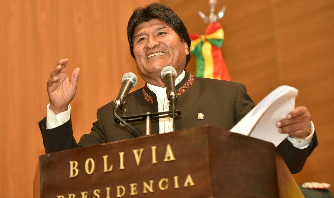 Morales convida vários países para auditoria do processo eleitoral