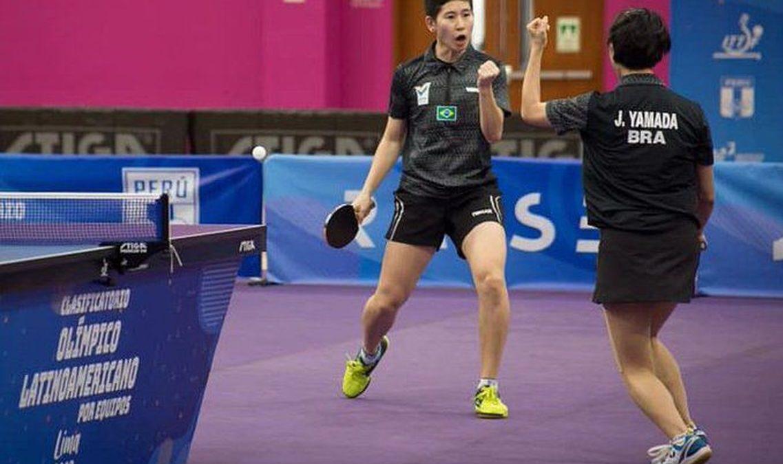 Tênis de mesa do Brasil confirma presença na Olimpíada de Tóquio 2020