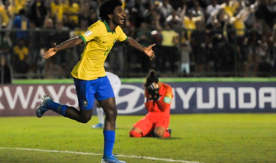 Brasil se classifica no Mundial Sub-17 com vitória sobre Nova Zelândia
