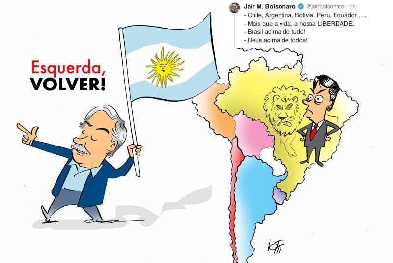 """Bolsonaro diz que não pensa em romper com a Argentina, mas que está preparado """"para o pior"""""""
