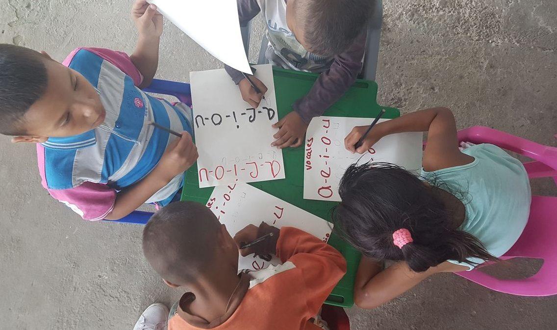Roraima investe na primeira infância e acolhe crianças refugiadas