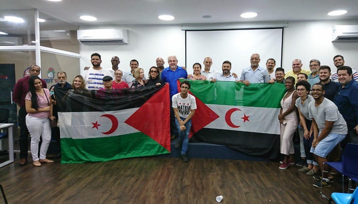 Ato de solidariedade ao povo Saharaui reúne sindicalistas, lideranças e diplomatas