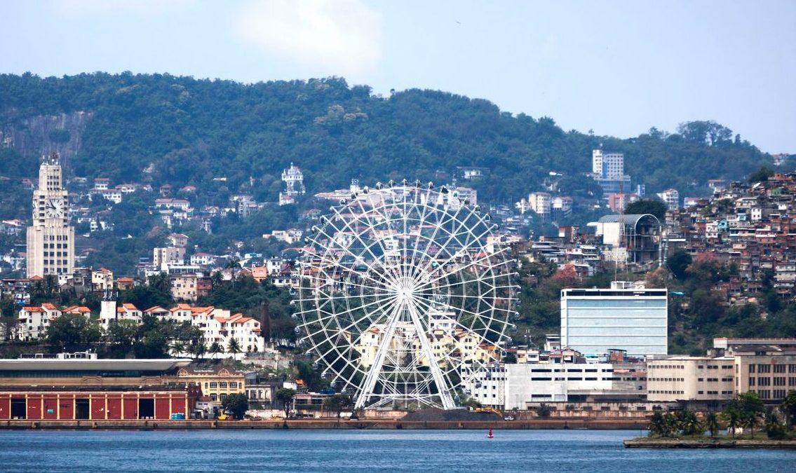 Rio inaugura maior roda-gigante da América Latina em novembro