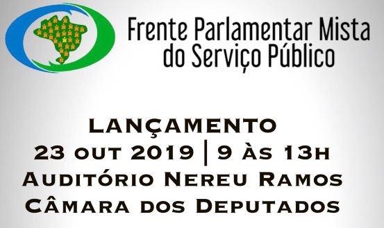 Frente do serviço público é relançada nesta quarta (23), com seminário