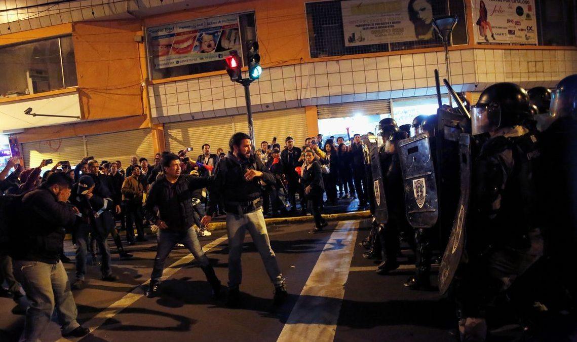 Equador decreta estado de exceção por causa de protestos