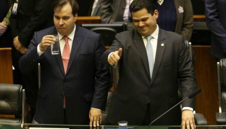 Parlamentares já discutem sucessão de Rodrigo Maia e Davi Alcolumbre em 2021