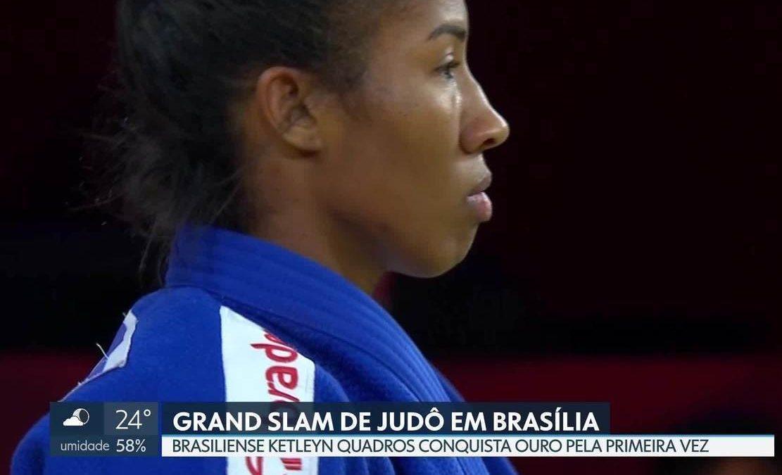 Ketleyn Quadros é ouro no Grand Slam de Judô de Brasília