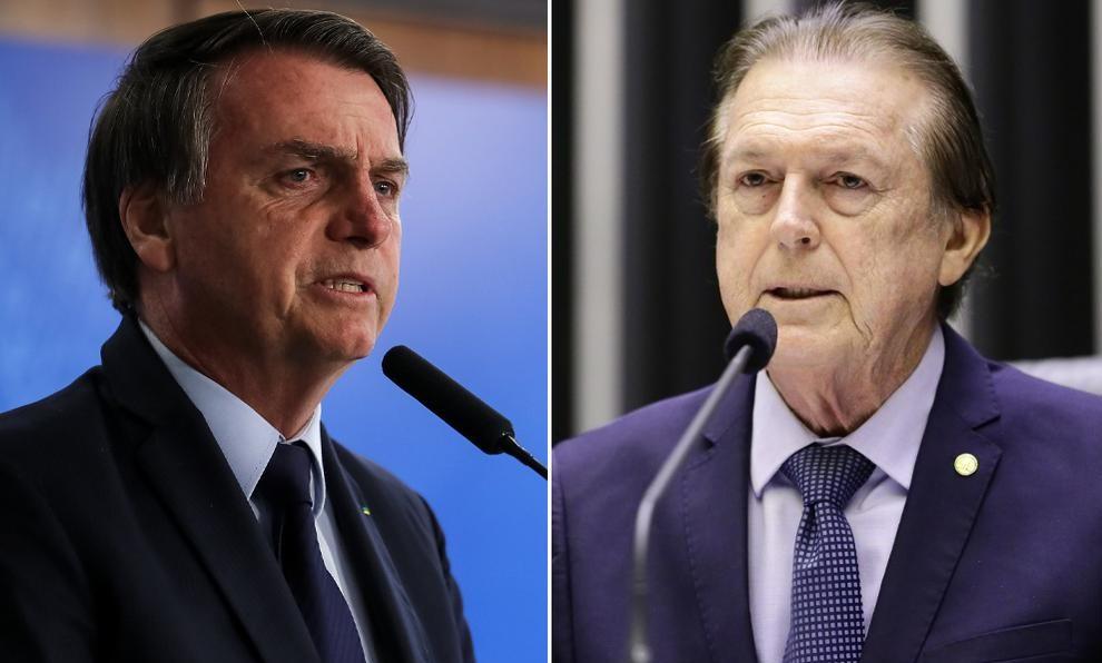 Bolsonaro diz que Bivar está 'queimado' e pede para apoiador esquecer o PSL