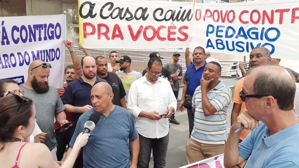 População apoia protesto contra pedágio da Linha Amarela S/A