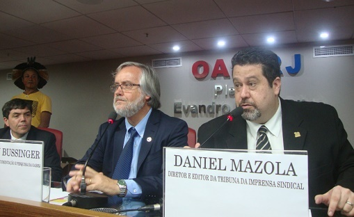 Daniel Mazola é nomeado Consultor de Imprensa da Revista Eletrônica e do Centro de Documentação e Pesquisa da OAB/RJ