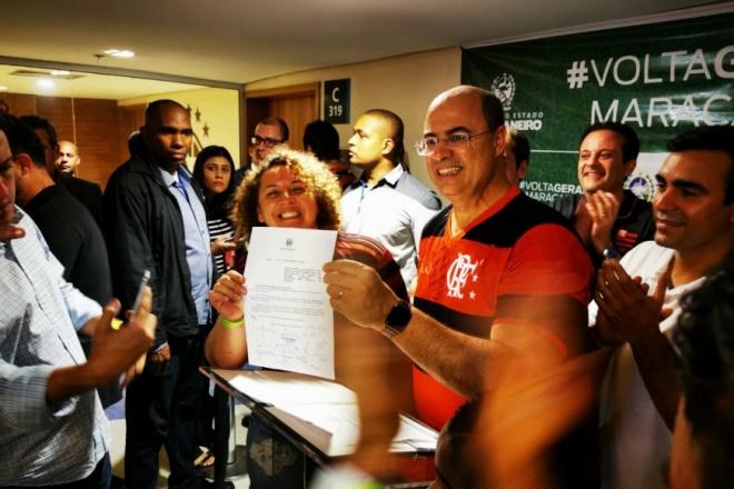 Com final da Libertadores, presidente do TJ assume governo do Rio