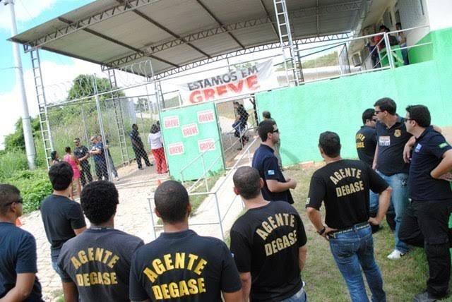 Justiça determina que servidores do Degase suspendam greve em 24 horas