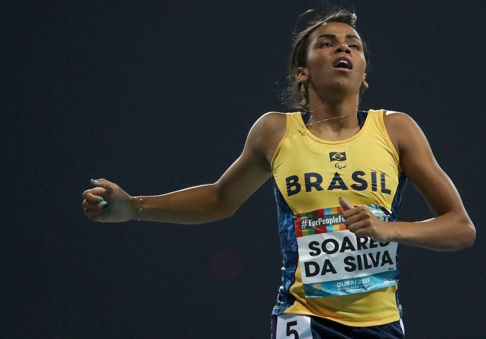Brasil inicia Mundial de Atletismo Paralímpico com ouro