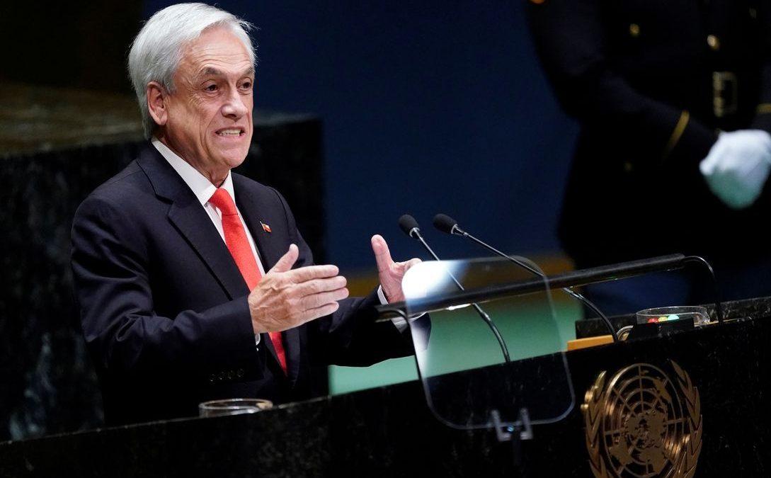 Piñera quer medidas mais duras para resguardar ordem pública