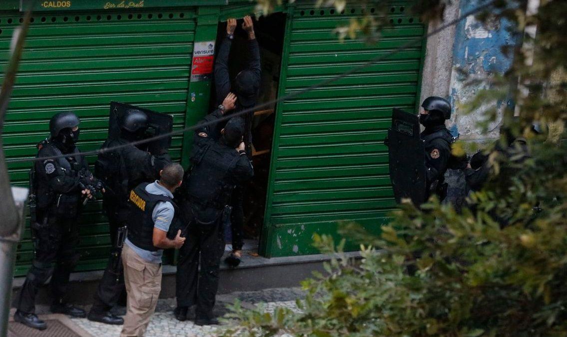 Sequestro na Lapa termina depois de mais de oito horas