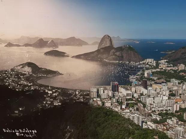 Homenagem ao Rio antigo