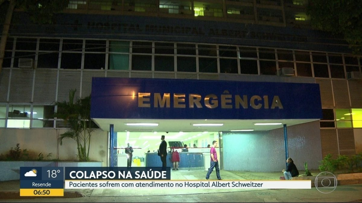 Rede carioca de saúde está em pleno funcionamento