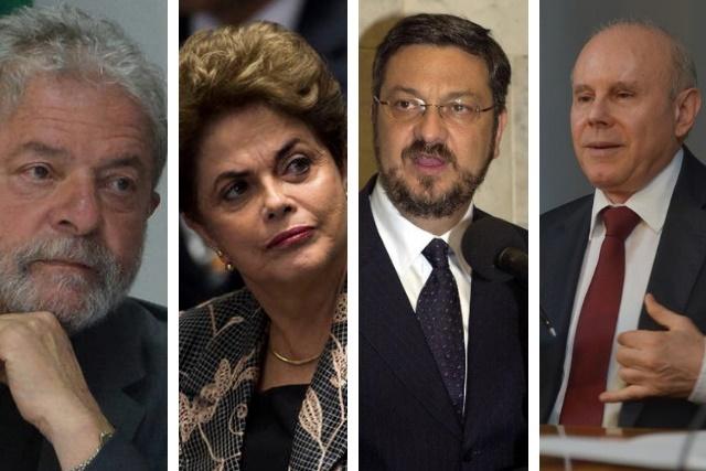 """Justiça de Brasília absolve Lula, Dilma, Palocci e Mantega em processo do """"quadrilhão do PT"""""""