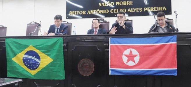 CEPS-BR realiza seminário com o Embaixador da Coreia do Norte