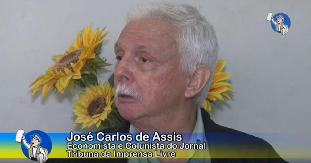 Economista José Carlos de Assis propõe mudança do regime econômico brasileiro; Assista à entrevista