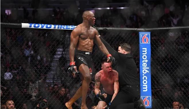 Usman derrota e quebra mandíbula de lutador racista
