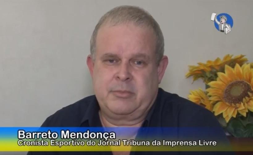 Assista à entrevista com Barreto Mendonça, novo Colunista e Subeditor de Esportes