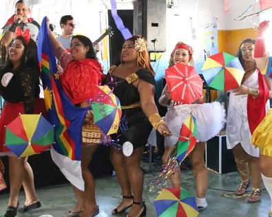 Concurso em Olinda escolheu Rainha Plus do carnaval de Pernambuco — Foto: Aldo Carneiro/Pernambuco Press