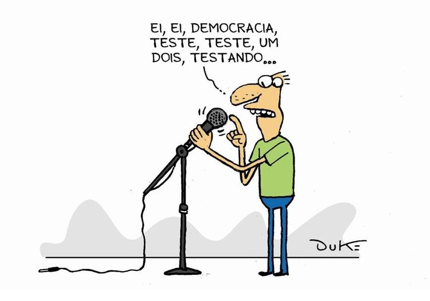 Democracia é a melhor forma de governo para 62% dos brasileiros, segundo Datafolha