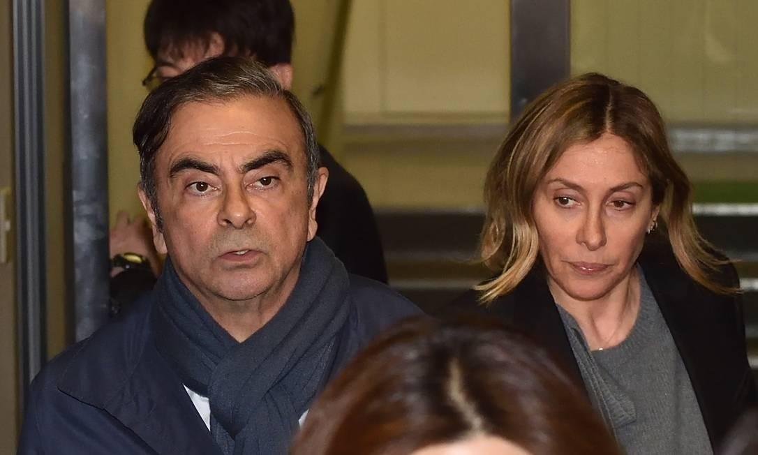 """Ele fugiu da injustiça japonesa"", diz esposa de Carlos Ghosn após ""nove meses de total pesadelo"""