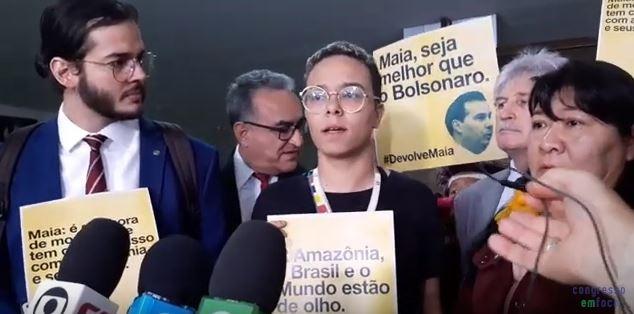 """""""Projeto de mineração precisa ser devolvido"""", dizem deputados a Maia"""