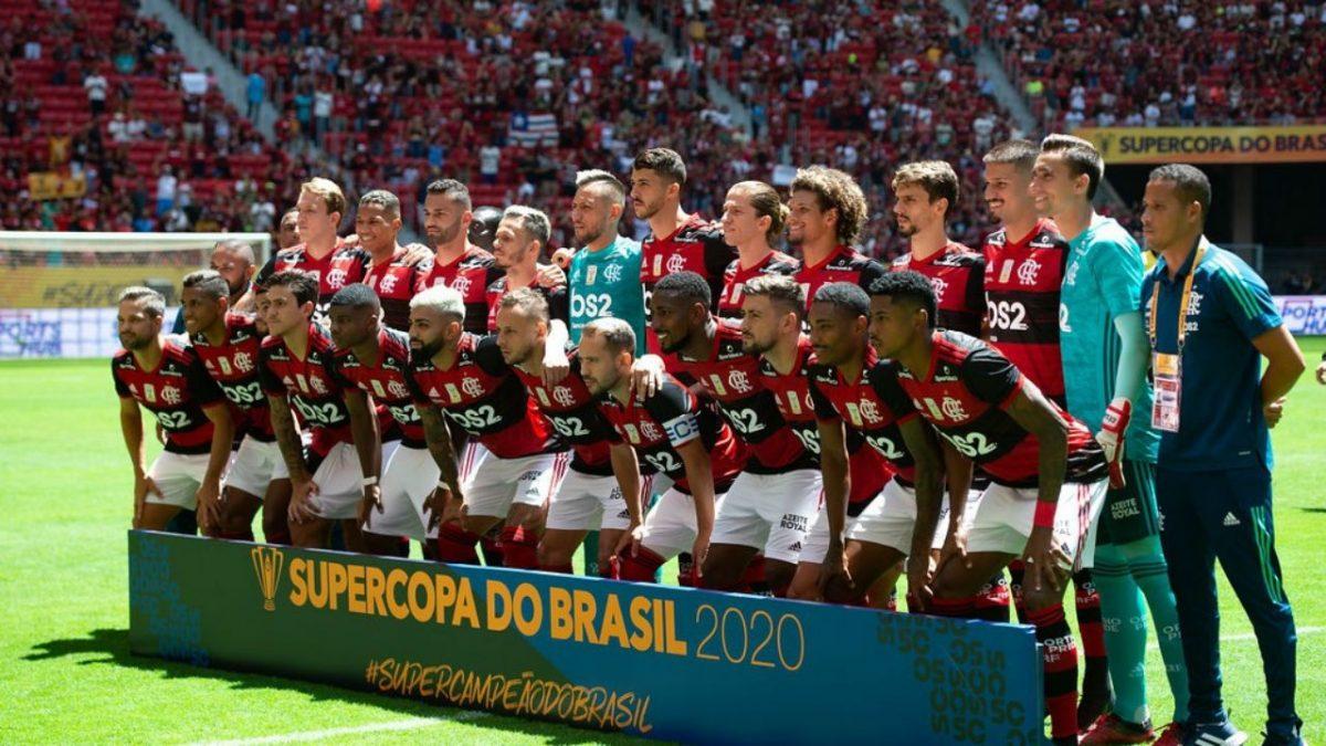 Flamengo inicia 2020 como Supercampeāo do Brasil