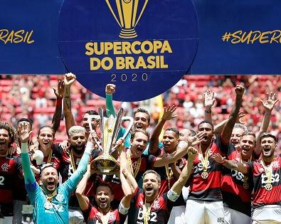 Flamengo inicia 2020 com título da Supercopa do Brasil (crédito: Reuters)