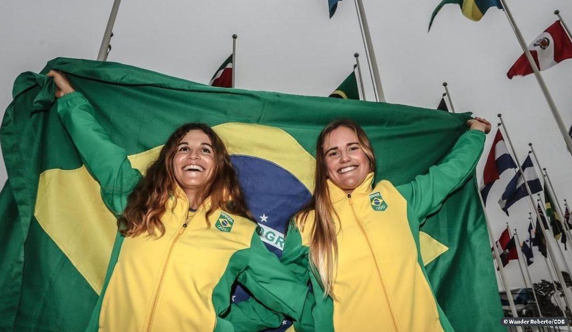 Martine Grael e Kahena Kunze estarão em Tóquio 2020